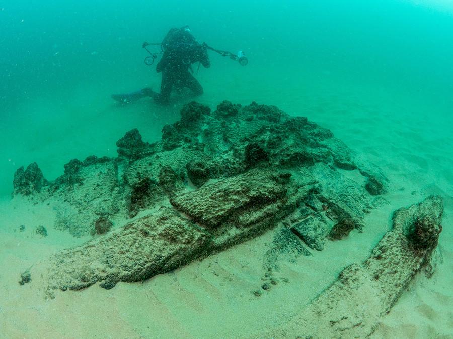 Encuentran en aguas de Portugal navío hundido hace cuatro siglos (+ Fotos)
