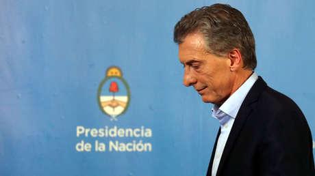 El presidente de Argentina, Mauricio Macri, en su residencia de Olivos, norte de Buenos Aires, el 18 de julio del 2018.