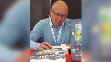 Manuel Gálvez Ibañez, médico español y autor del libro '¡Vive!'
