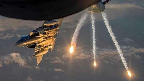 Un caza F-15