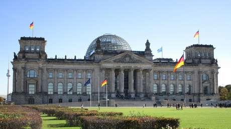 El edificio del Reichstag, Berlín, Alemania