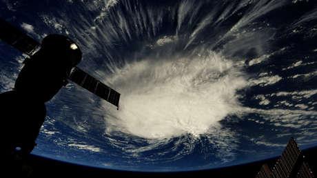 Imagen del huracán Florence tomada desde la Estación Espacial Internacional por el astronauta Ricky Arnold el 6 de septiembre de 2018.