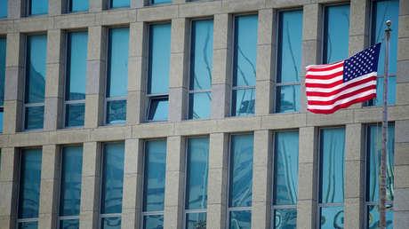 Embajada de EE.UU. en La Habana, Cuba.