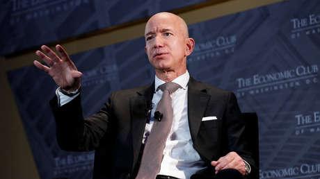 Jeff Bezos, presidente y director ejecutivo de Amazon y propietario de The Washington Post, 13 de septiembre de 2018