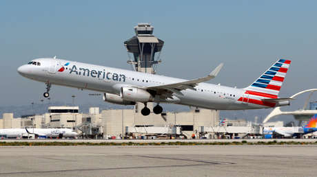 Imagen ilustrativa / Un Airbus A321 de la compañía American Airlines.