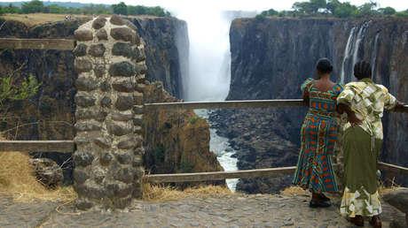 Las cataratas Victoria, Zambia.