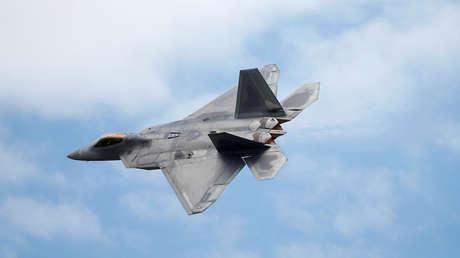 Imagen ilustrativa / Caza furtivo F-22 Raptor de Lockheed Martin.