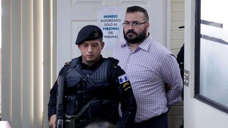 Javier Duarte, exgobernador de Veracruz, antes de su extradición a México desde Guatemala. 27 de junio de 2017.