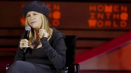 Barbra Streisand en Nueva York, EE.UU., el 23 de abril de 2015