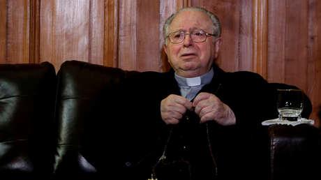 El sacerdote chileno Fernando Karadima fotografiado en Chile, el 11 de noviembre de 2015.