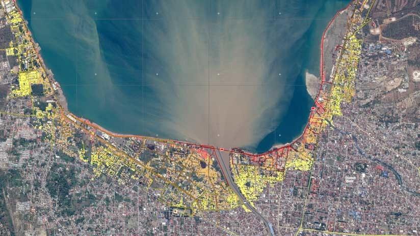 Mapas: La destrucción sufrida en Indonesia tras el terremoto y el tsunami