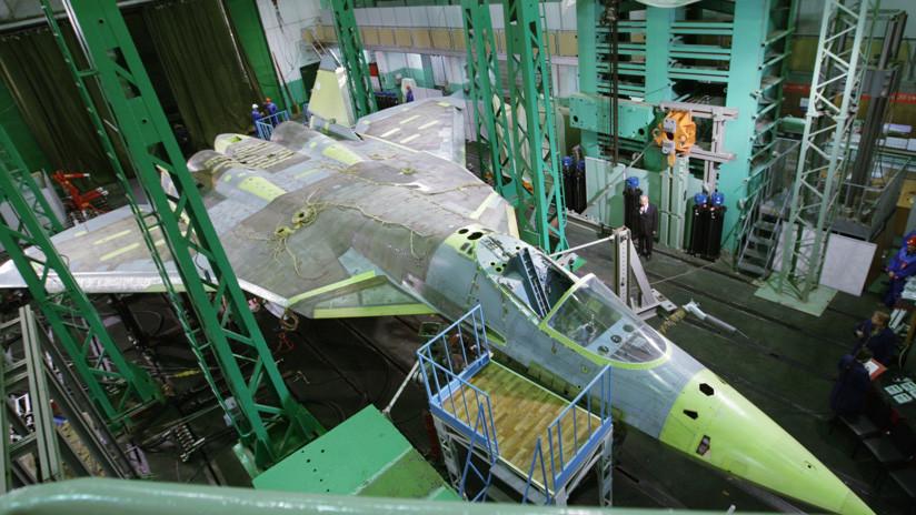 Rusia prueba 'cañones de microondas' para aviones de combate de sexta generación
