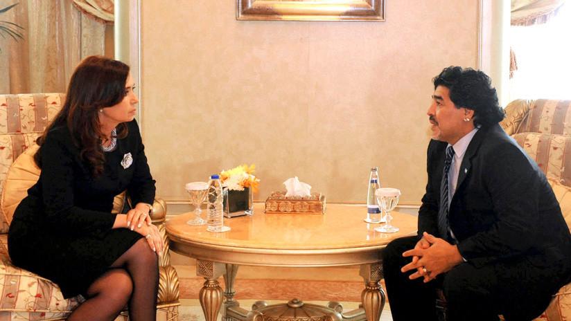Maradona, ¿candidato a vicepresidente en Argentina?