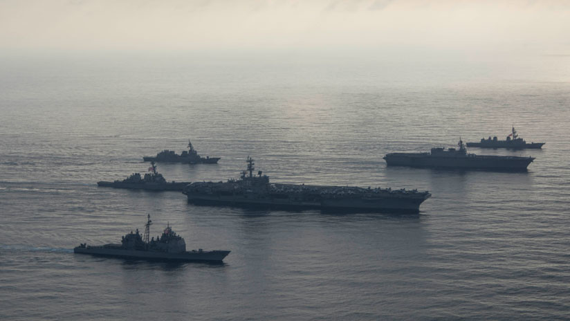 """China denuncia """"provocaciones"""" de EE.UU. porque un destructor navegó cerca de las islas Spratly"""