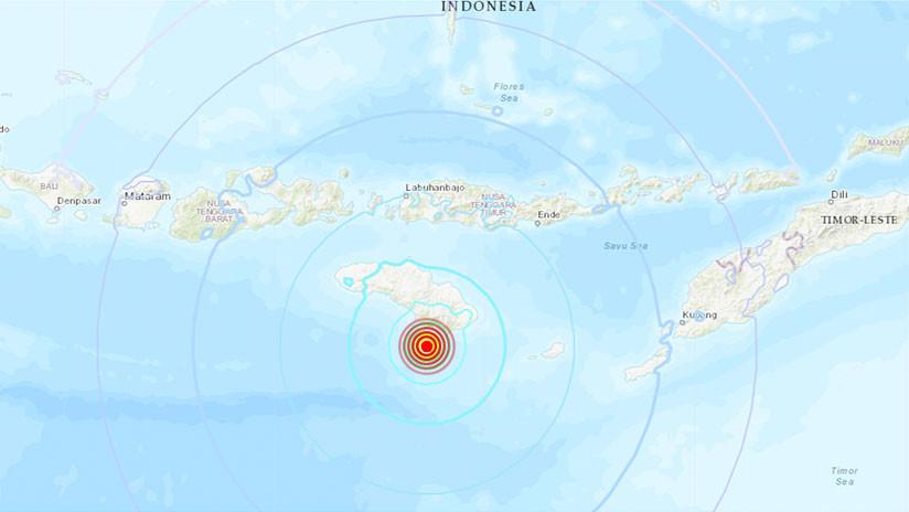 Nuevo sismo de 5.9 sacude al sur de Indonesia