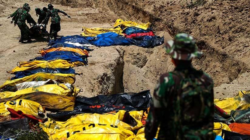 Indonesia: El número de muertos por el terremoto y tsunami asciende a 1.234