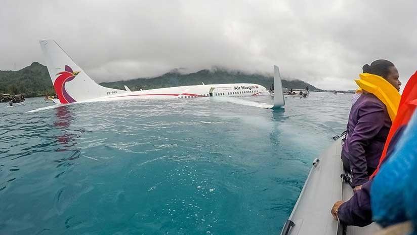 Avión caído en una laguna de Micronesia: Hallan el cuerpo de un pasajero