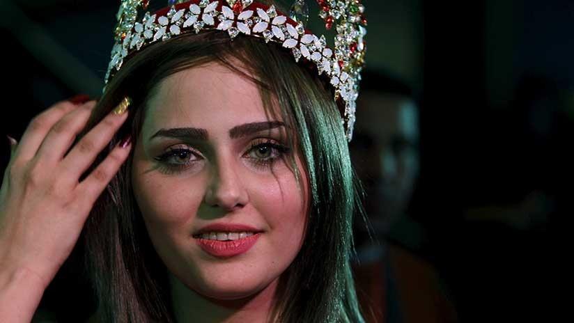"""""""Eres la siguiente"""": Miss Irak recibe amenazas en medio de una serie de extrañas muertes de mujeres"""