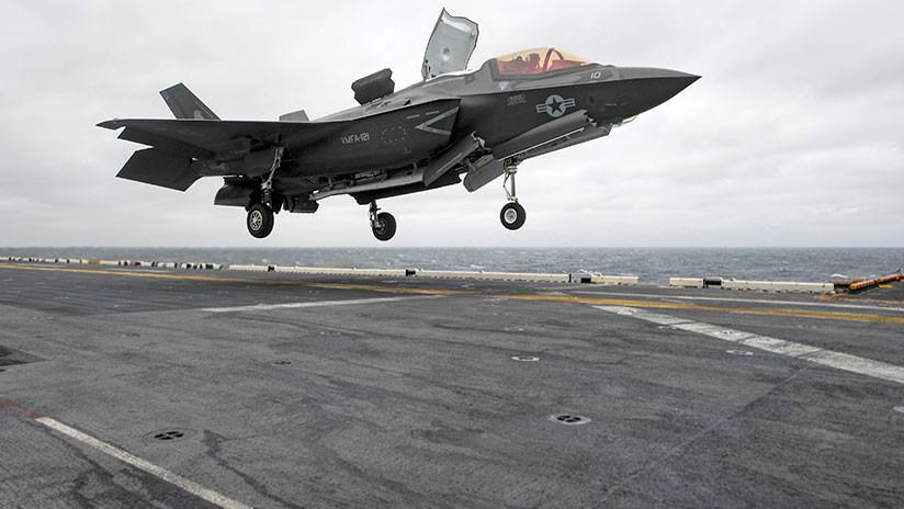 """El debut en combate del F-35B: """"El avión más caro del mundo, contra un puñado de armas en el suelo"""""""