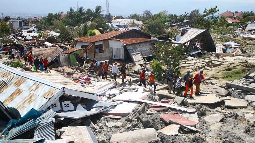 El número de víctimas por el terremoto y tsunami en Indonesia se eleva a 1.407