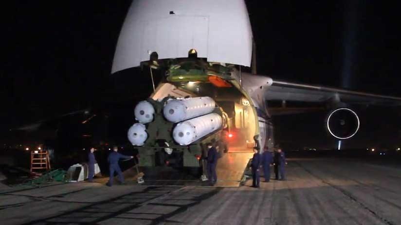 EEUU: Entrega de misiles rusos S-300 a Siria