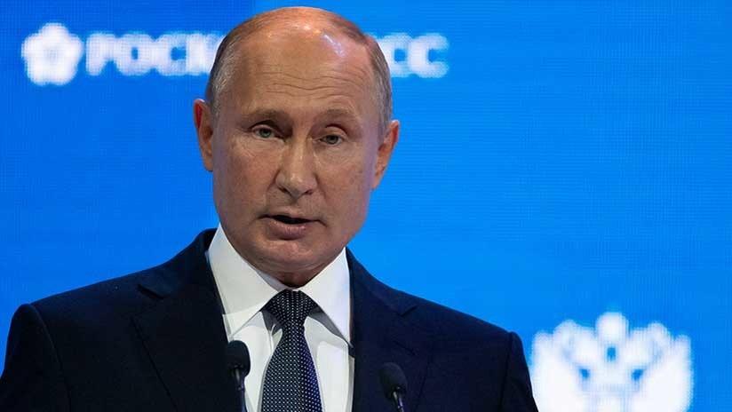 """Putin: """"Rusia siempre va a ser el proveedor de gas a Europa más confiable"""""""