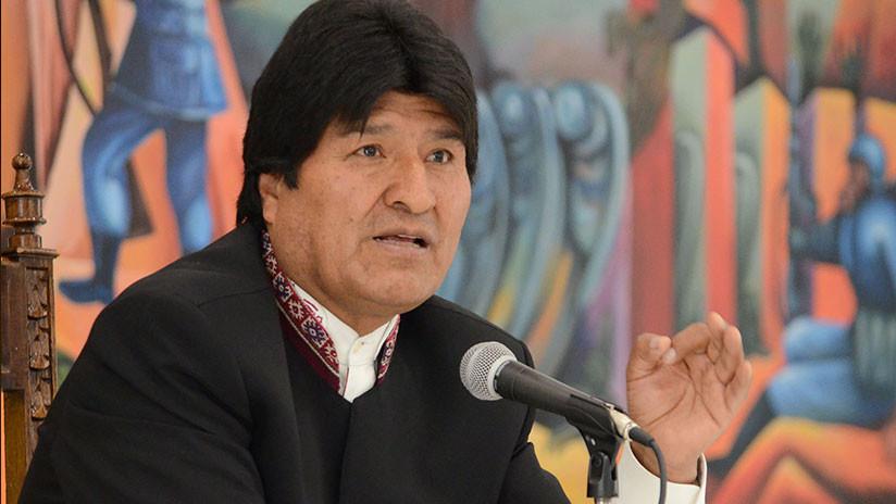 """Evo Morales agradece a Venezuela por nombrarlo """"Hijo Ilustre"""""""