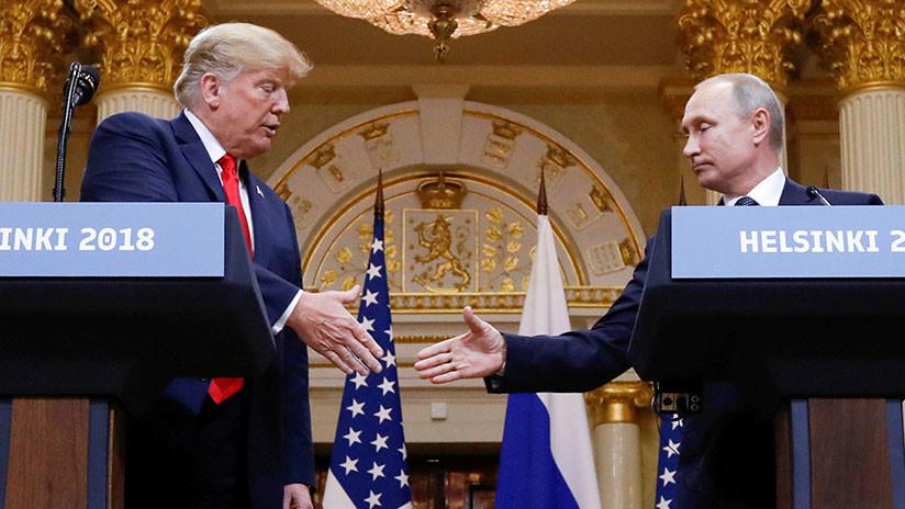 """VIDEO: Trump afirma que """"lo haría muy bien"""" en una pelea de boxeo con Putin"""