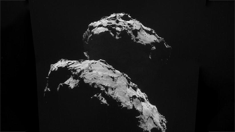 FOTO: Rosetta capta el cometa 67P como nunca antes