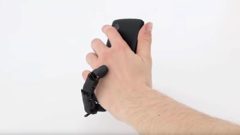 MobiLimb: Que a nadie le falten dedos para manipular el móvil o la tablet (VIDEO)