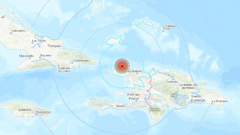 Pánico en Haití tras terremoto; fallecen 11