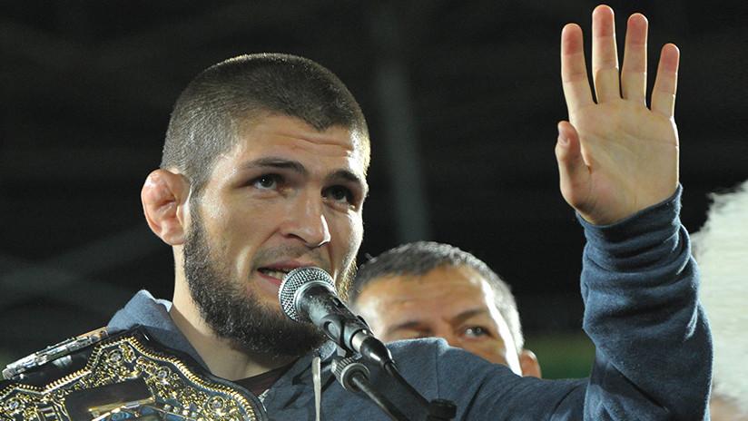 Nurmagomédov podría ser multado con 2 millones de dólares por la trifulca tras la pelea con McGregor