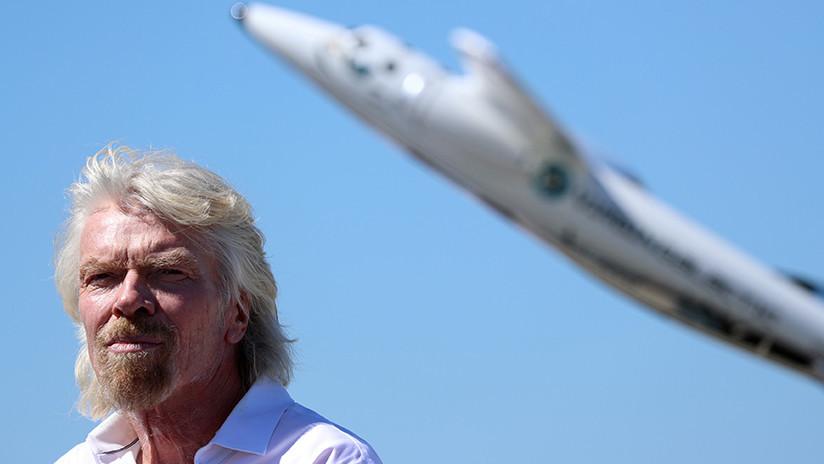 """Richard Branson anuncia que Virgin Galactic estará en el espacio """"en cuestión de semanas"""""""