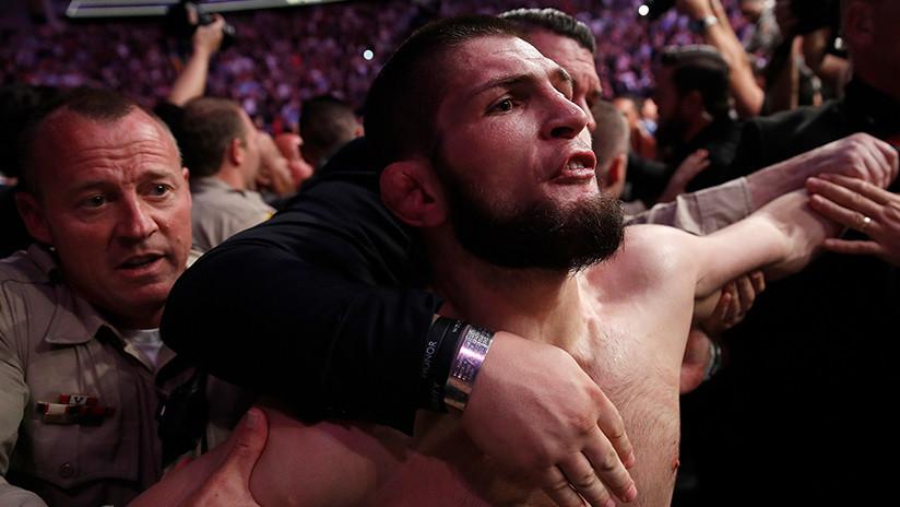 Este pudo ser el insulto que provocó que Nurmagomédov iniciara la trifulca tras pelea con McGregor