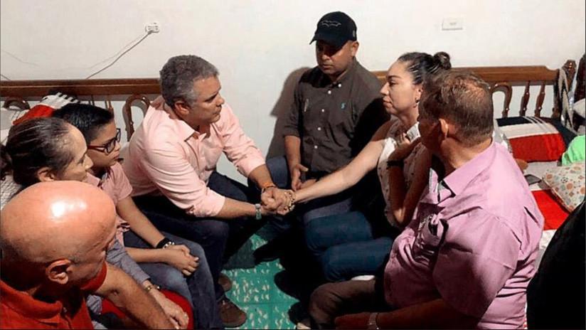 Liberan al hijo secuestrado de un alcalde colombiano