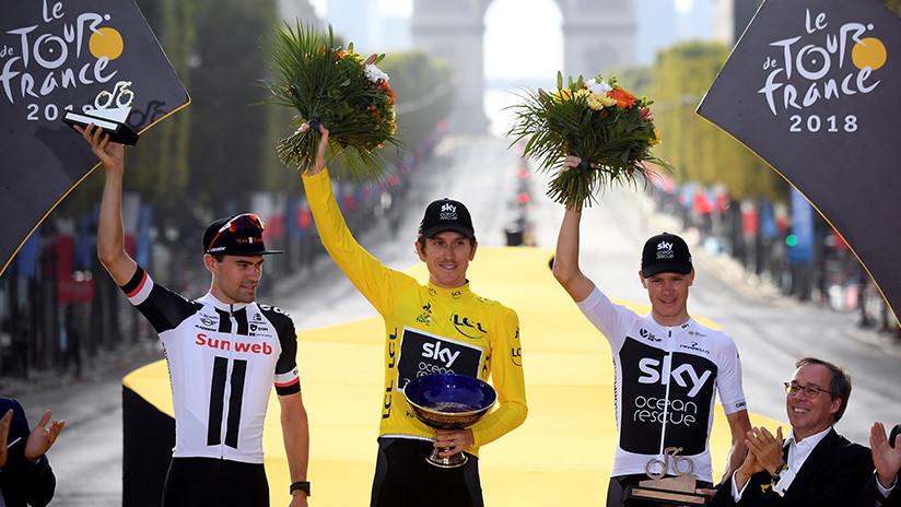"""""""¡Tengan la delicadeza de devolverla!"""": Roban copa del Tour de Francia en un 'show' de ciclismo"""