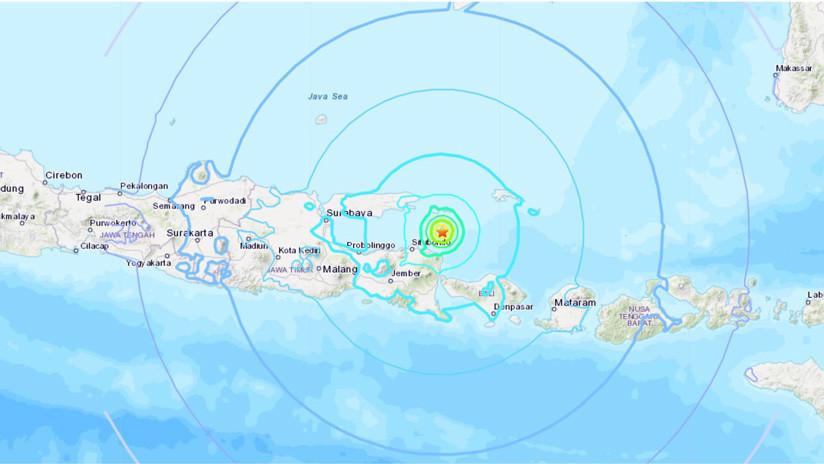 Indonesia: Varios muertos por un sismo de magnitud 6,0 frente a la isla de Java