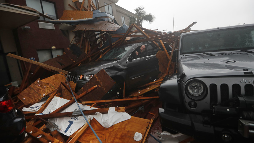 FOTOS, VIDEOS: Primeras imágenes de los estragos en EE.UU. por el huracán Michael