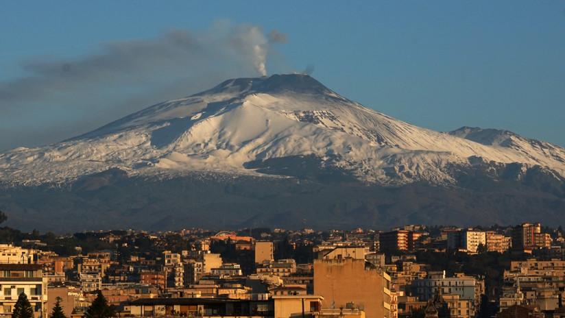 """Un """"colapso catastrófico"""" del Etna podría provocar un tsunami devastador en Europa"""