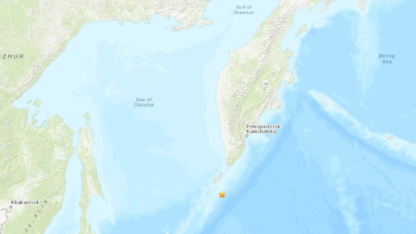 Rusia: Un sismo de magnitud 6,3 se registra en las islas Kuriles