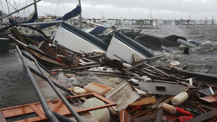 El devastador huracán Michael se cobra su primera víctima en EE.UU.