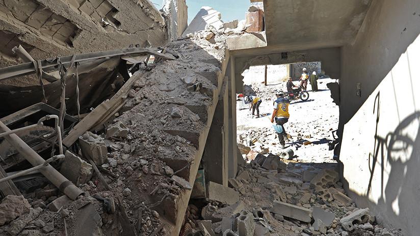 """Pompeo: La Siria destruida no recibirá """"ni un solo dólar"""" de EE.UU. hasta que no """"expulse"""" a Irán"""