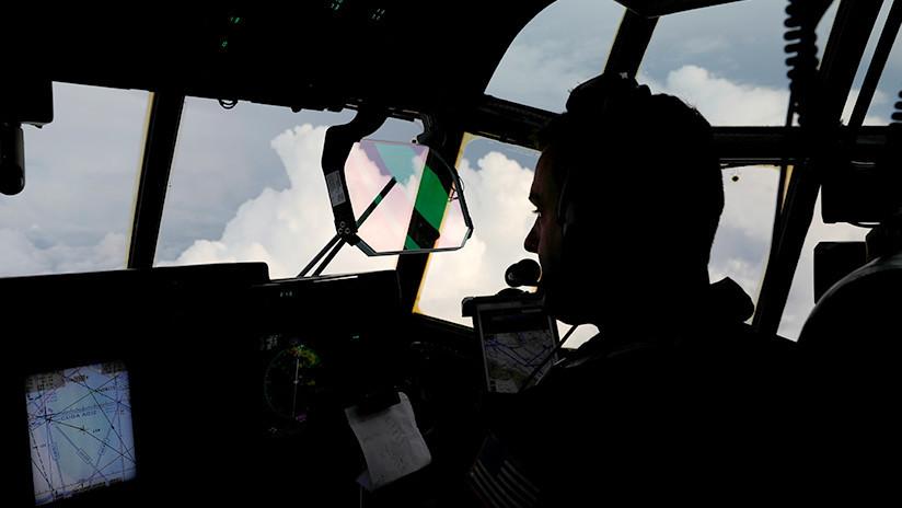 """""""La peor turbulencia que ha sufrido el piloto"""": Graban el huracán Michael desde un avión (VIDEOS)"""