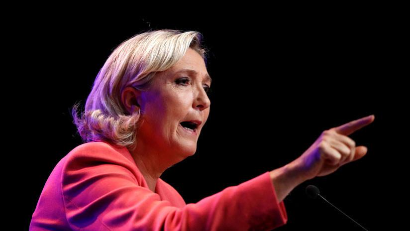 """Le Pen sobre Bolsonaro: """"Dice cosas extremadamente desagradables"""""""