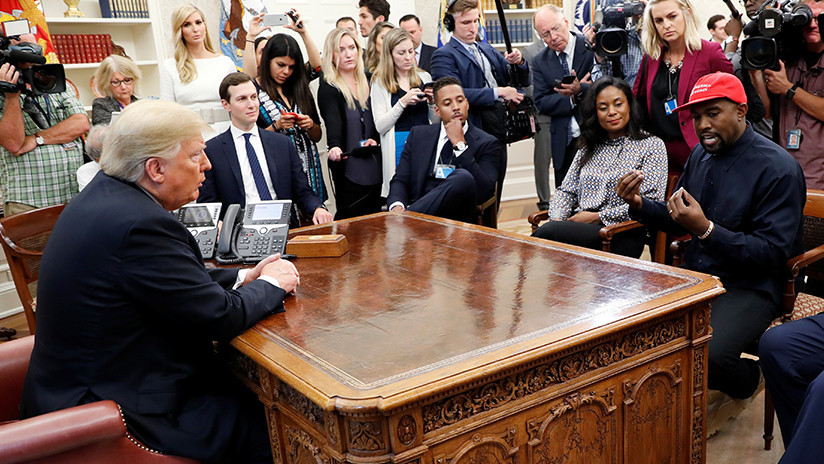 """""""Lo podria considerar"""": Trump no excluye la participación de Kanye West en su campaña electoral 2020"""