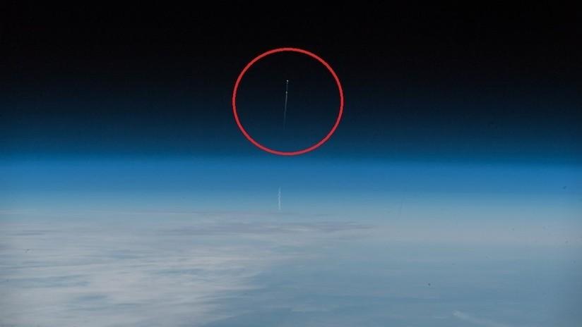 FOTOS: El despegue fallido de la nave Soyuz MS, visto desde el espacio