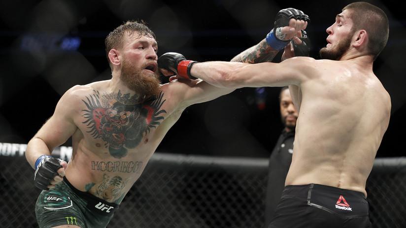 Suspenden temporalmente a Nurmagomédov y a McGregor por la trifulca en la UFC 229