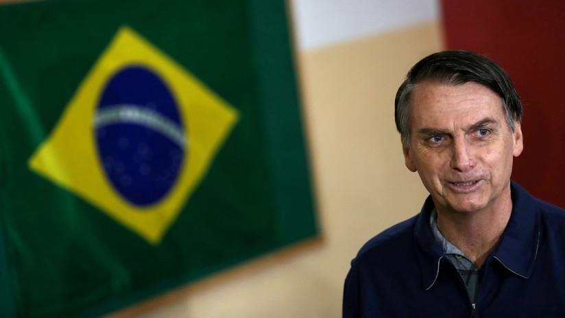 """""""Quiero un Brasil grande"""": Bolsonaro se declara """"admirador de Trump"""""""