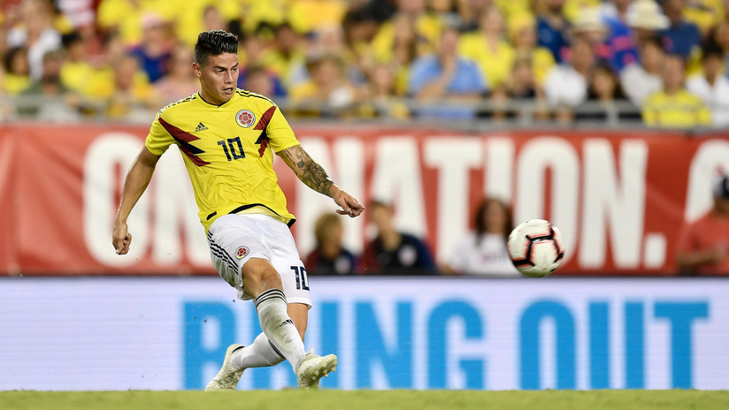 VIDEO: James abre la goleada de Colombia frente a EE.UU. con un tanto espectacular