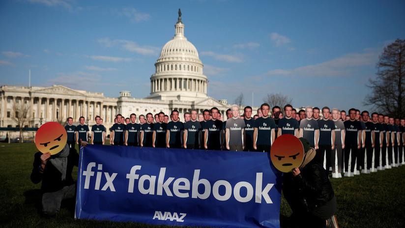 Facebook elimina cientos de cuentas con contenido político de cara a las elecciones en EE.UU.